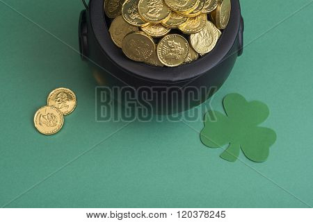 gold for st. patricks day