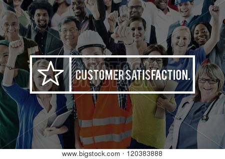 Customer Satisfaction Service Client Shopper Concept