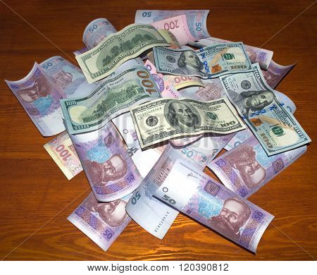 Ukrainian Money Us Dollars