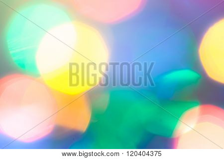 abstract colorful blurred highlights background