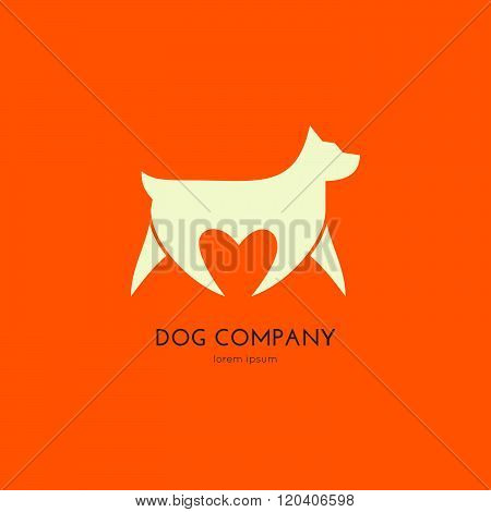 Logo With A Dog