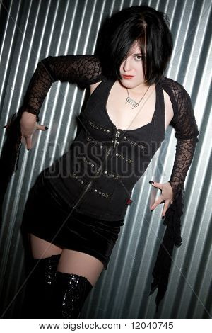 Scary Gothic Girl