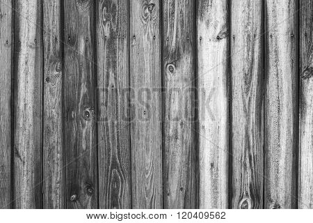 Vintage Black And White Wood Background