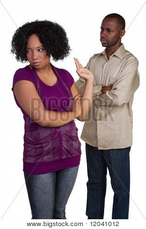 Mad Couple Fighting