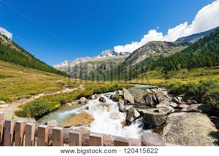 Care Alto And Chiese River - Italy