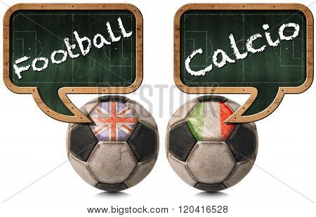 English Football And Italian Calcio