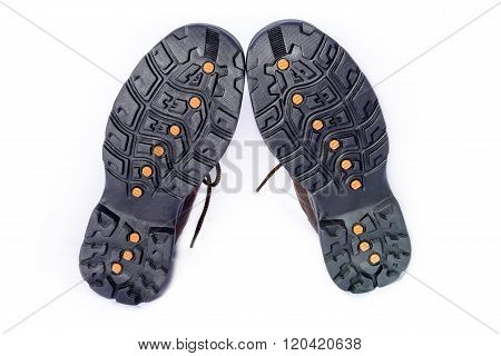Soled Hiking Boots