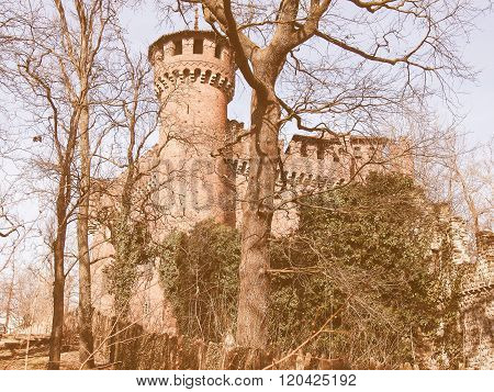 Castello Medievale, Turin, Italy Vintage