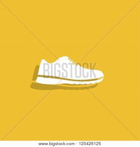 Shoe Icon. Vector  Eps 10