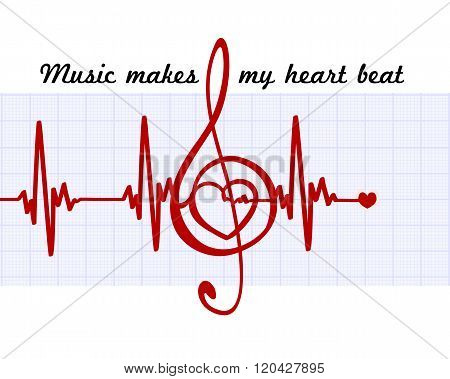 Heart In A Musical Clef
