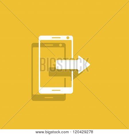Smartphone Icon, Vector