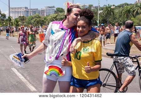 Brazilians in Carnival