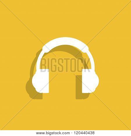 Headphone Icon Flat