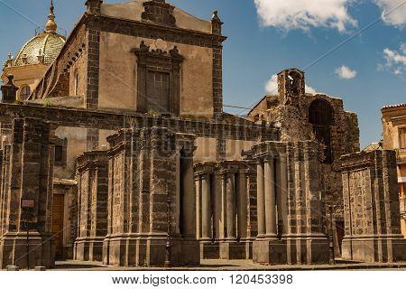 Adrano Mother Church Of Santa Maria Assunta - Sicily