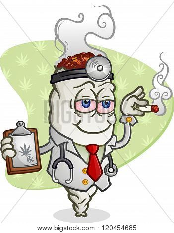 Medical Marijuana Doctor Cartoon