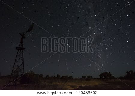Stars in the outback of Australia