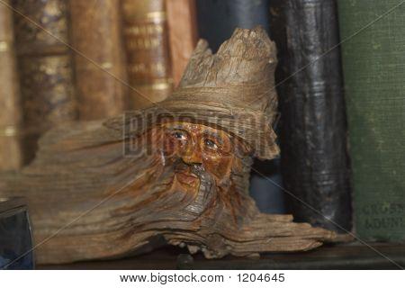 Carved Wood Spirit