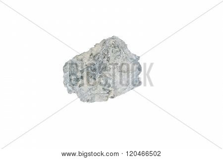 Raw Light Blue Celestine (celestite) From Madagascar isolated