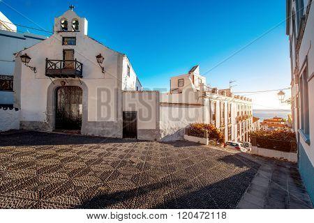 City street view in Santa Cruz de La Palma
