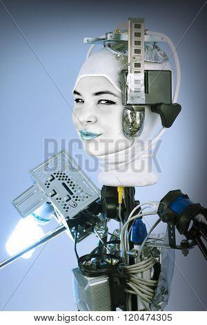 Human Cyborg Robot