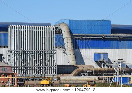 Big Plant For Processing Scrap Metal