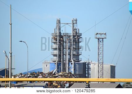 Big Plant For Processing Scrap Metal