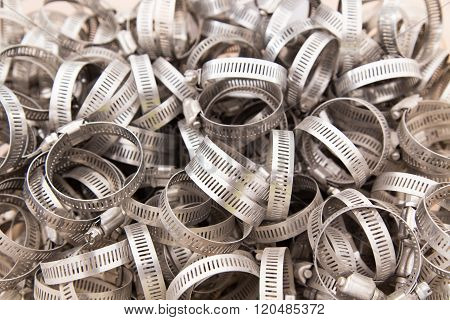 Gear Clamps In Bin