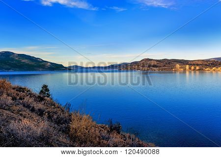 Okanagan Lake Kelowna BC Canada