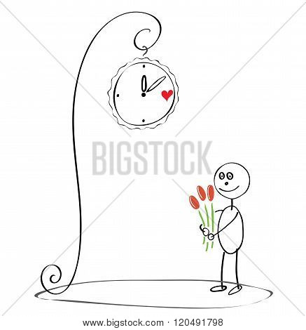 Love Tryst Under The Clock