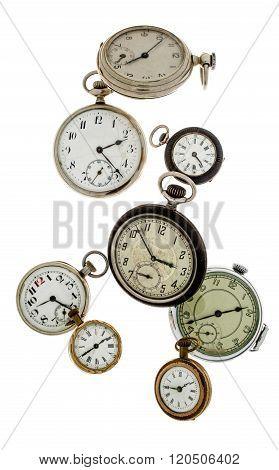 Time Flies Away Into Eternity.