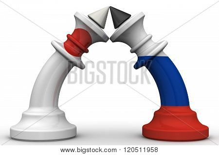 The confrontation between the Russian Federation and Japan. The concept