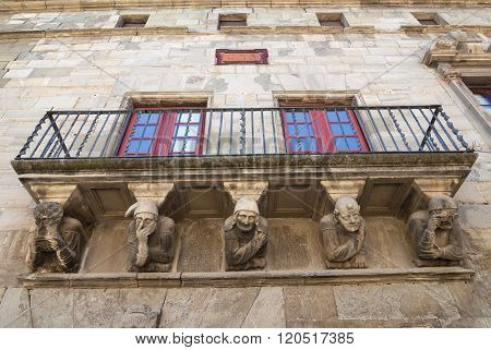 Cervera (catalunya, Spain): Historic Palace