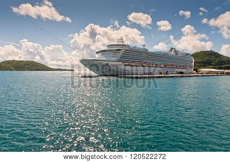 Princess Cruises Ship Visiting USVI