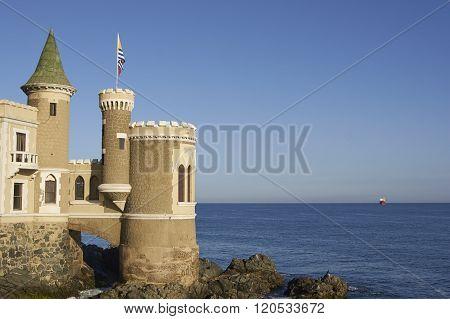 Wulff Castle in Vina del Mar
