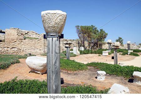 National Archaeological Park Caesarea, Israel
