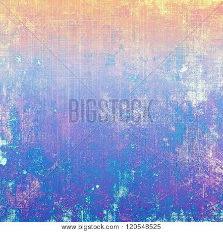 Abstract grunge background or old texture. With different color patterns: yellow (beige); blue; red (orange); purple (violet); pink