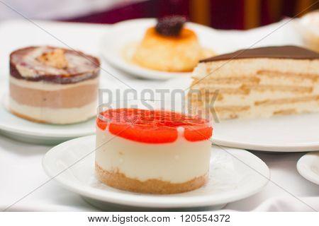 Restaurant Gourmet Desserts