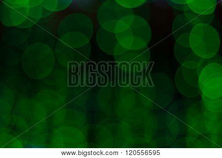 Blurred Image Of Festive Lights