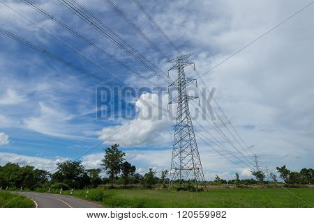 Strong Electric Power Lines