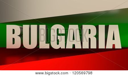 Bulgaria flag design concept