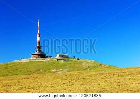 Alpine landscape in Bucegi Mountains, Romania, Europe