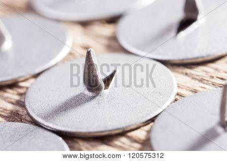 abstract macro image sharp pushpin