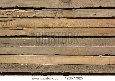 Wooden Surface With Abstract Pattern