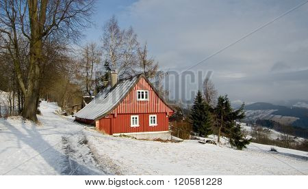 Cottage In Mountains