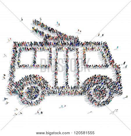 people  shape  trolley ecology