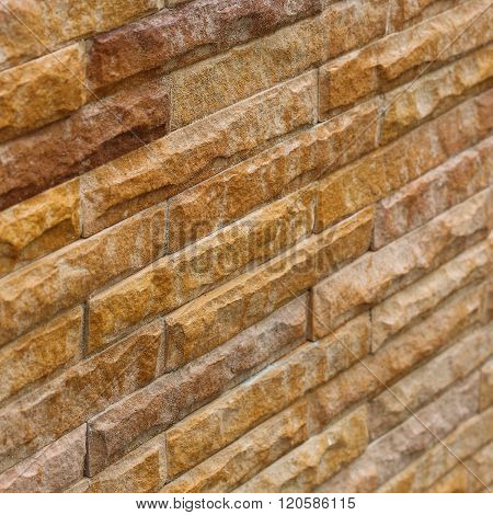 Brick Wall Background Used Decorate Home