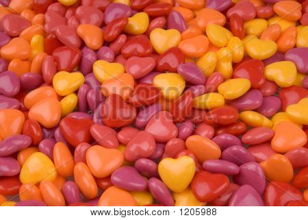 Candy Valentine Hearts