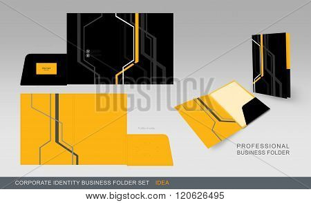 Corporate Identity Business Folder-concept 05