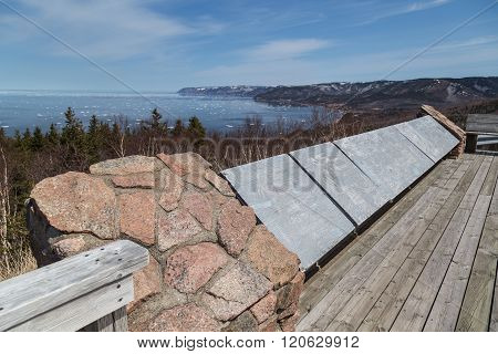Viewing Platform At Cabot Trail