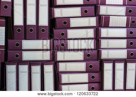 Binders Archive, Ring Binders, Bureaucracy